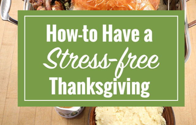 7 Ways to Avoid Stress this Thanksgiving